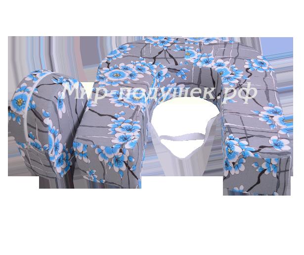 Сакура голубая